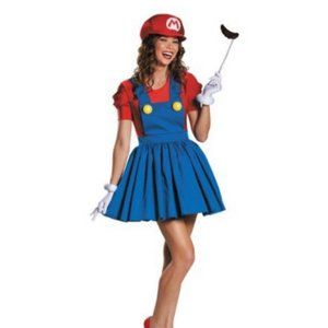 Super Mario Women's Adult Costume